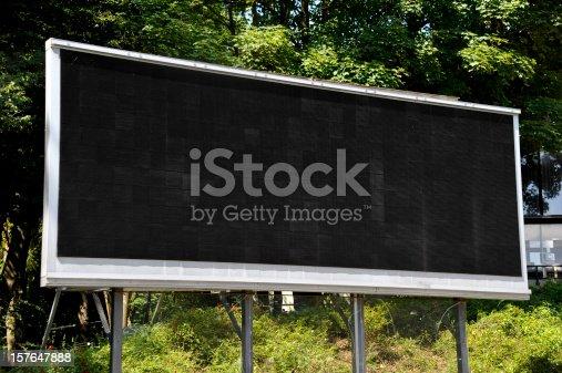 istock empty LCD Screen 157647888