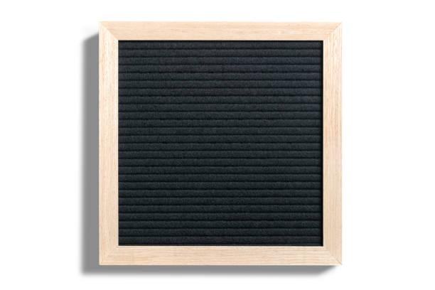 leeres Briefbrett mit Holzrahmen – Foto