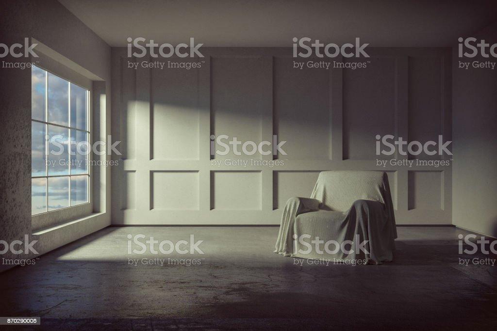 Leere Wohnzimmer – Foto