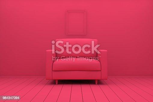 Living Room, Flooring, House, Residential Building, Empty, Loft, Sofa