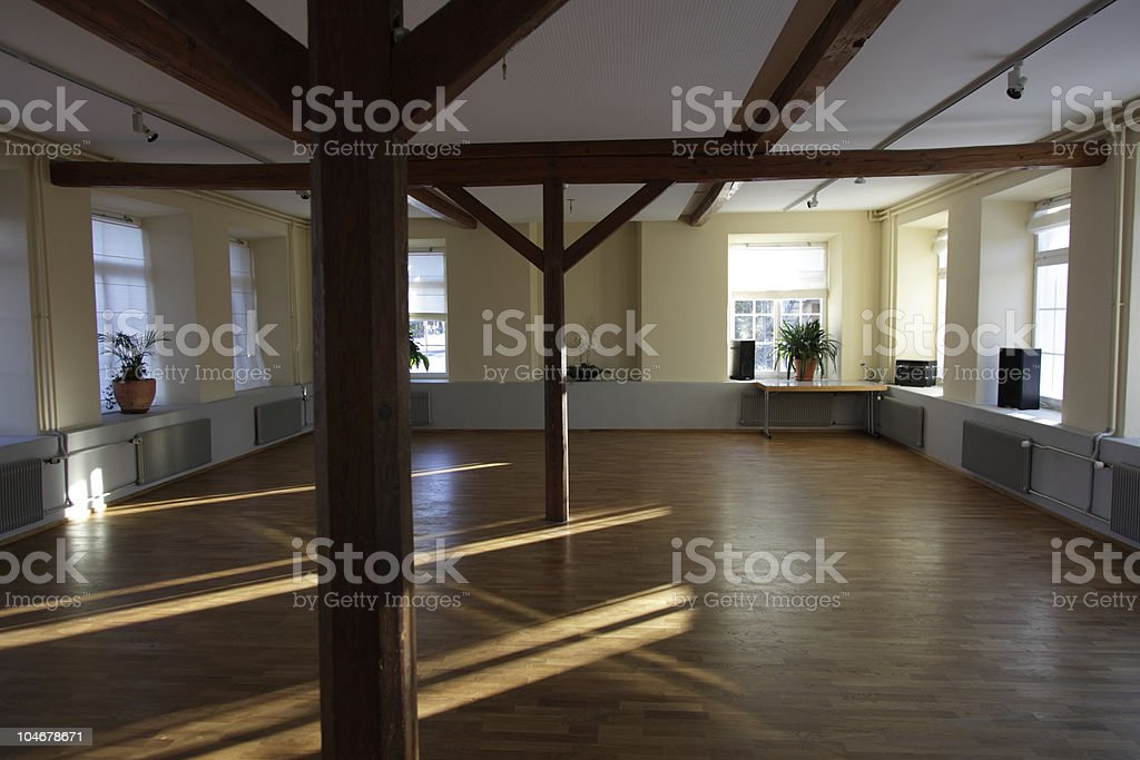 empty loft for rent XXL royalty-free stock photo