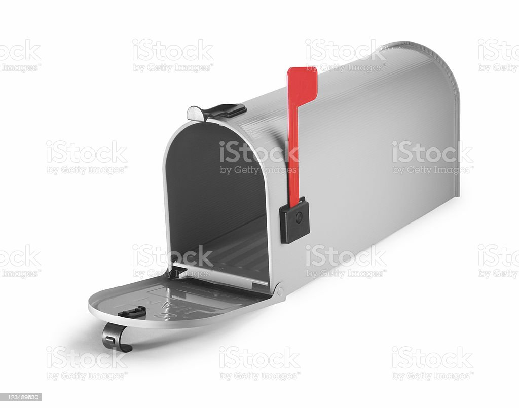 empty mailbox stock photo