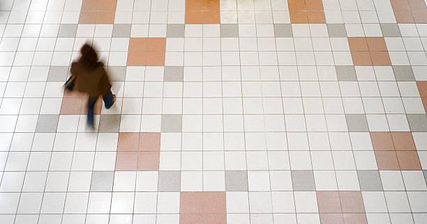 Empty Mall stock photo