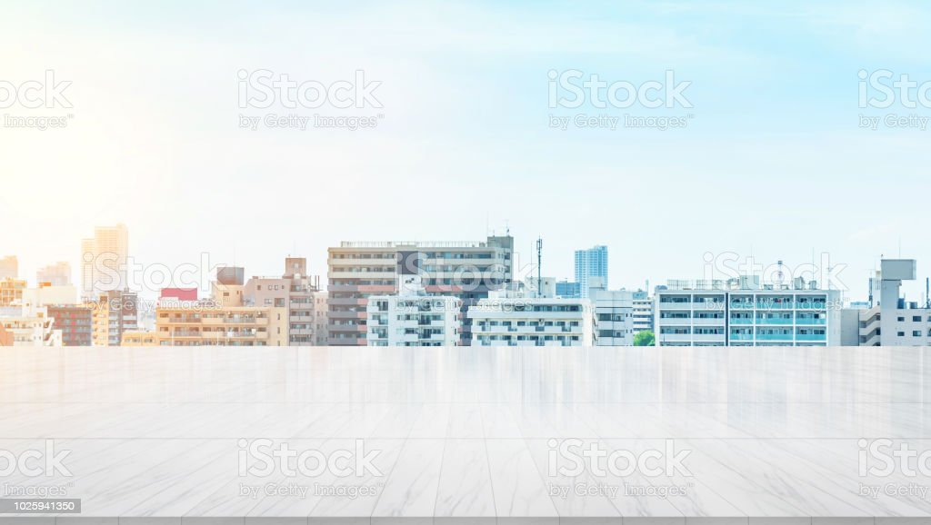 Business and design concept - empty marble panel ground with...