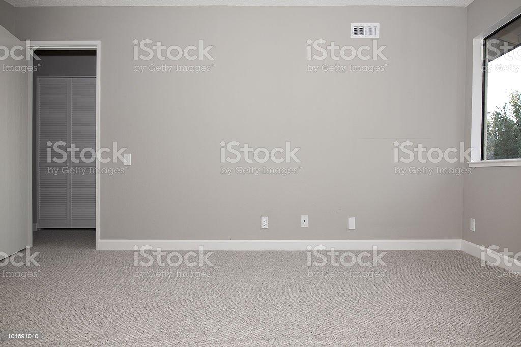 Vacío dormitorio principal - foto de stock