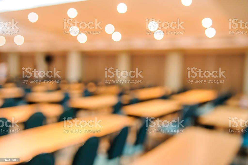 Leere Tagungs- oder Konferenzraum verschwommene für Hintergrund. – Foto