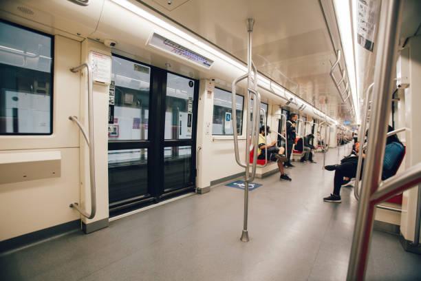 Leere U-Bahn von Santiago – Foto