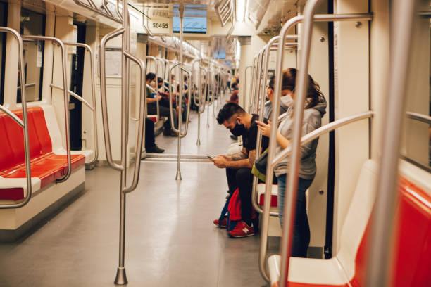 Leere Metro von Santiago – Foto