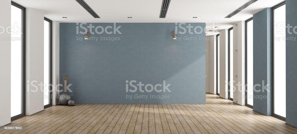 Empty minimalist interior - foto stock