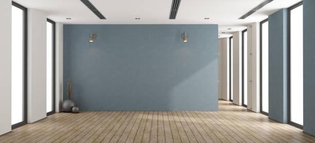 empty minimalist interior - empty room стоковые фото и изображения