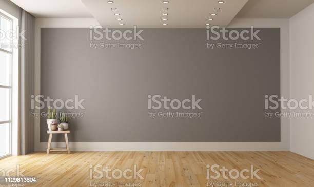 Empty minimalist room with gray wall on background picture id1129813604?b=1&k=6&m=1129813604&s=612x612&h=4scfnfcmufqsfv4wtuv6kno25ufmkimhpq 3fi6tzcm=