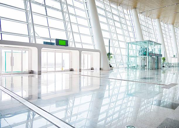 empty modern hall stock photo