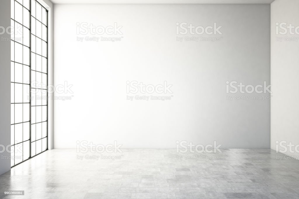 Vazio Interior moderno - Foto de stock de Abstrato royalty-free