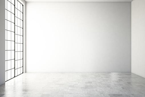 Foto de Vazio Interior Moderno e mais fotos de stock de Abstrato