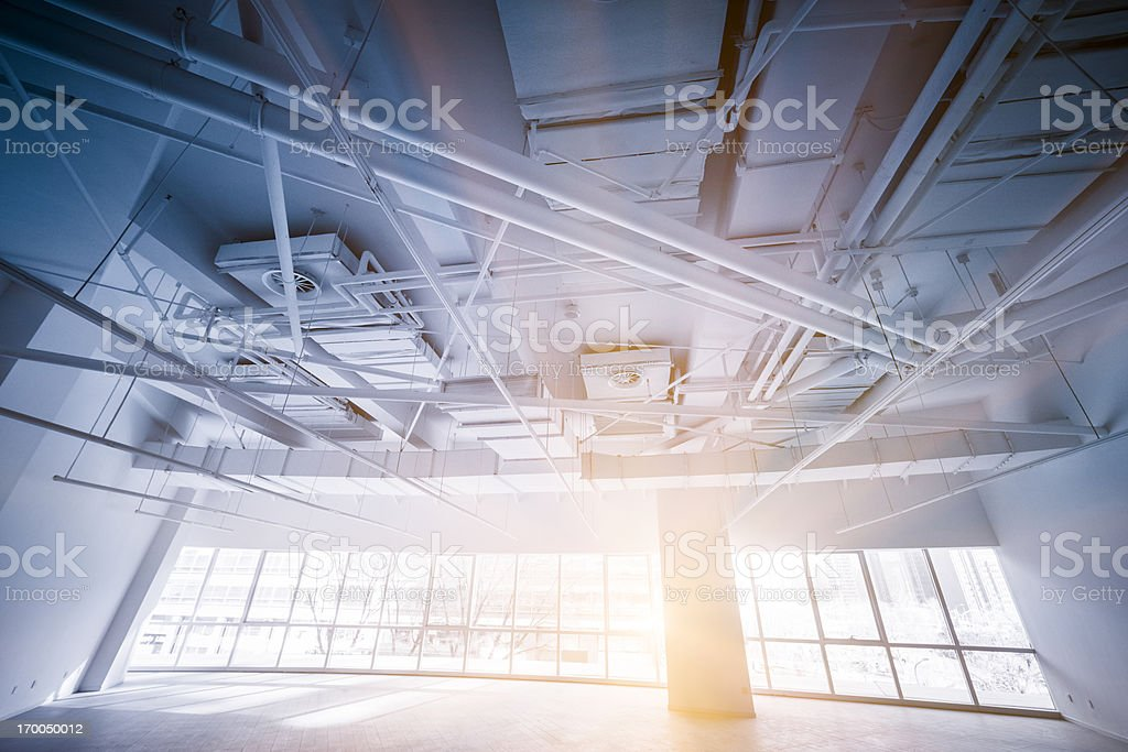 Empty modern office - Royalty-free Air Conditioner Stock Photo