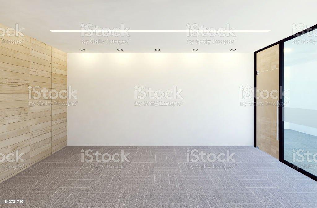 Leere moderne Büroeinrichtung Zimmer – Foto