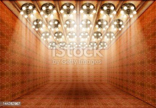 istock Empty Museum Hall 144282967