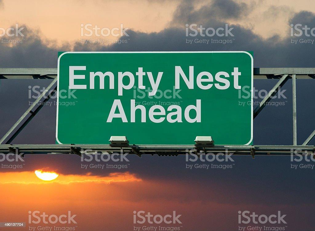 Empty Nest Ahead stock photo