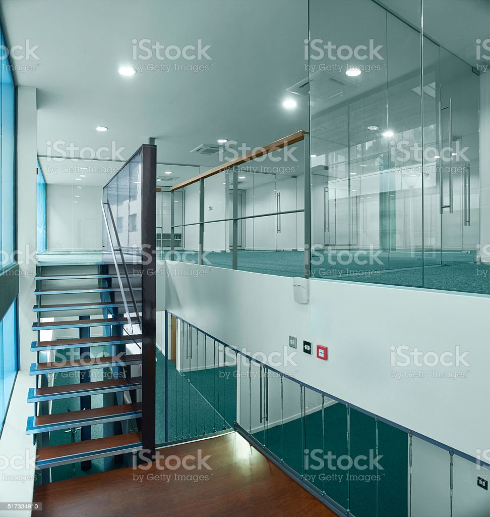 empty new business offices stock photo