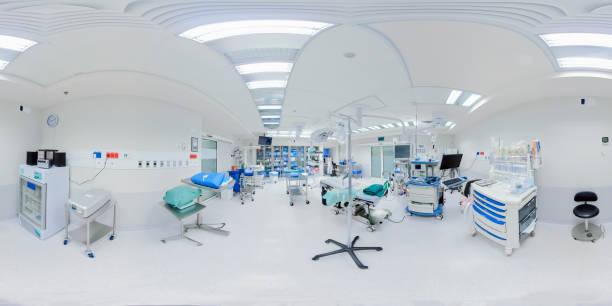 vacío nuevo quirófano en el hospital - 360 fotografías e imágenes de stock