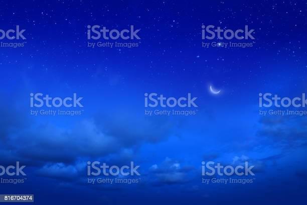 Photo of Empty night sky and stars