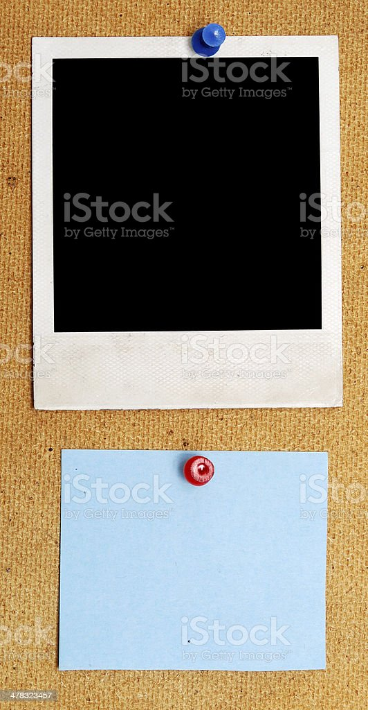 empty note royalty-free stock photo