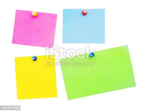 istock empty notes 451813363