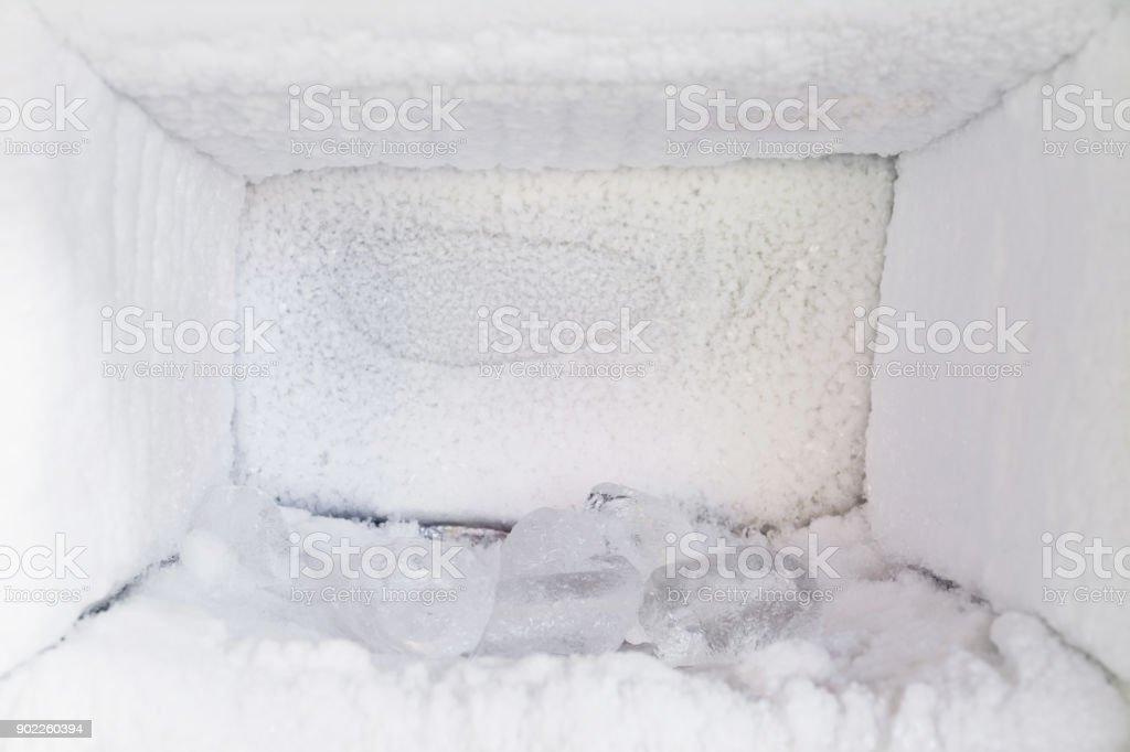 Aufbau Vom Kühlschrank : Der kühlschrank leer eisaufbau im inneren ein gefrierschrankwände