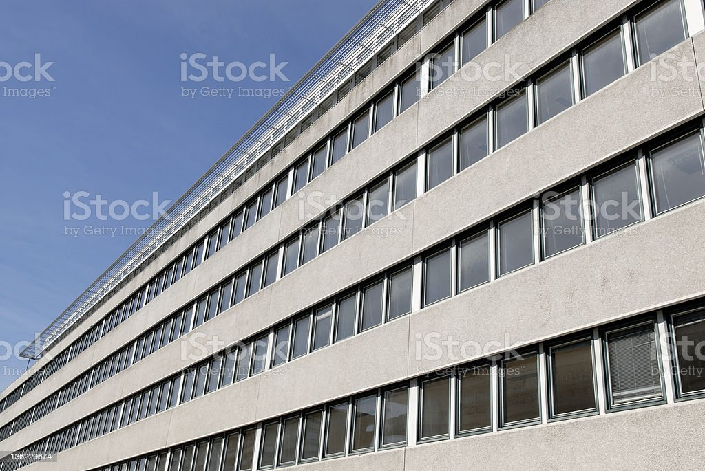 Empty Office Building royalty-free stock photo
