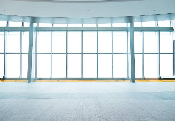 leeren bürogebäude - eingangsbereich teppich stock-fotos und bilder