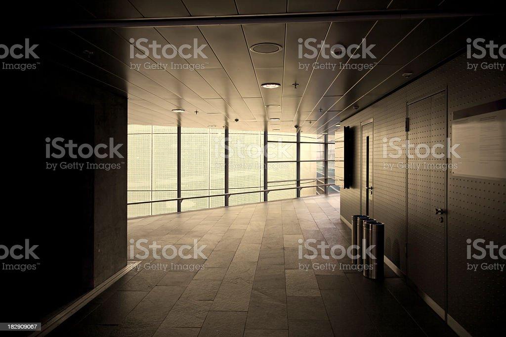 Empty office interior royalty-free stock photo