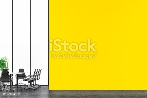 847512708 istock photo Empty office interior with conference table 2020 1212164107