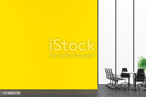 847512708 istock photo Empty office interior with conference table 2020 1213653733