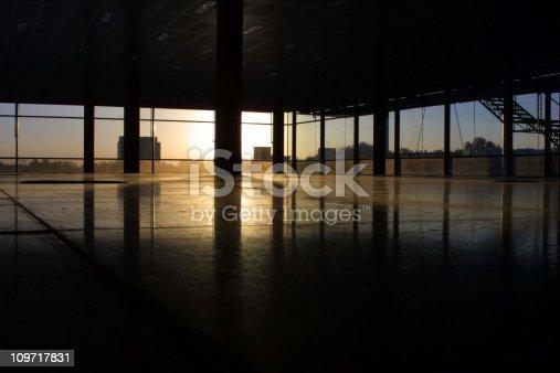 Inside an empty office in Chiswick, London