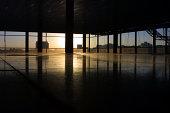 Empty office, London