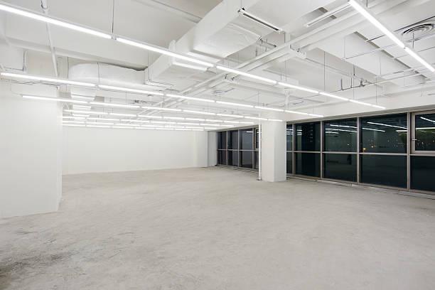 empty office - fönsterrad bildbanksfoton och bilder