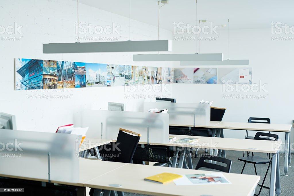 Leeres Büro  – Foto