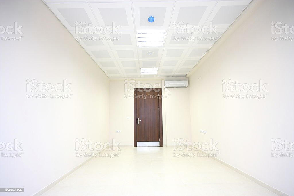 Empty office room royalty-free stock photo