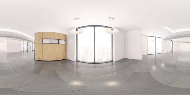 interior del espacio de oficina vacío - 360 fotografías e imágenes de stock