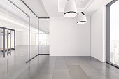istock Empty office space interior 1280769943