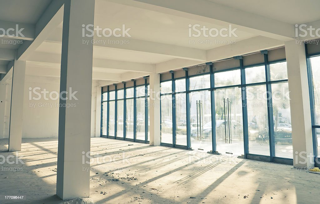 Empty office space royalty-free stock photo