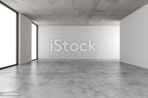 istock Empty office space 499686554