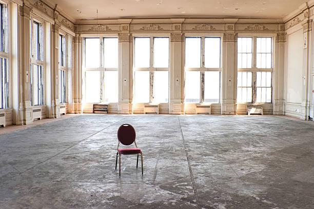 Leere alte Ballsaal – Foto