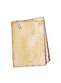 istock Empty old yellowed paper layout for vintage photo or postcard 1130632479