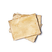 istock Empty old yellowed paper layout for vintage photo or postcard 1130632480