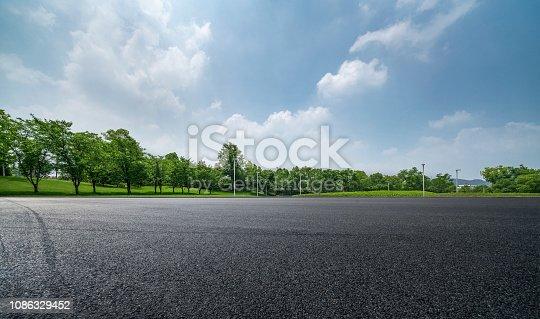 Horizon over Parking Lot
