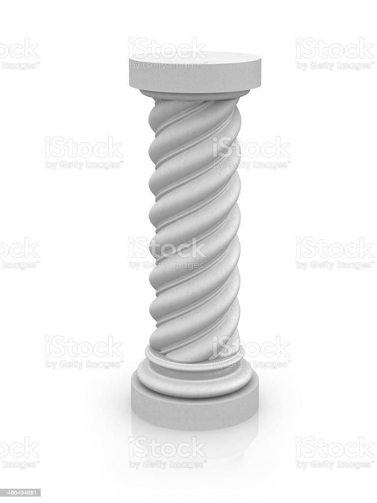 Empty Pedestal royalty-free stock photo
