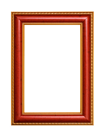 Empty Picture Frame Stock Photo - Download Image Now