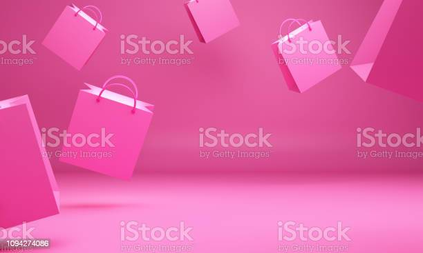 Empty pink shopping bag in the studio lighting design concept for picture id1094274086?b=1&k=6&m=1094274086&s=612x612&h=doctiq 3gplo0suw65dhp37d2zrevyrilvjj mawbmo=