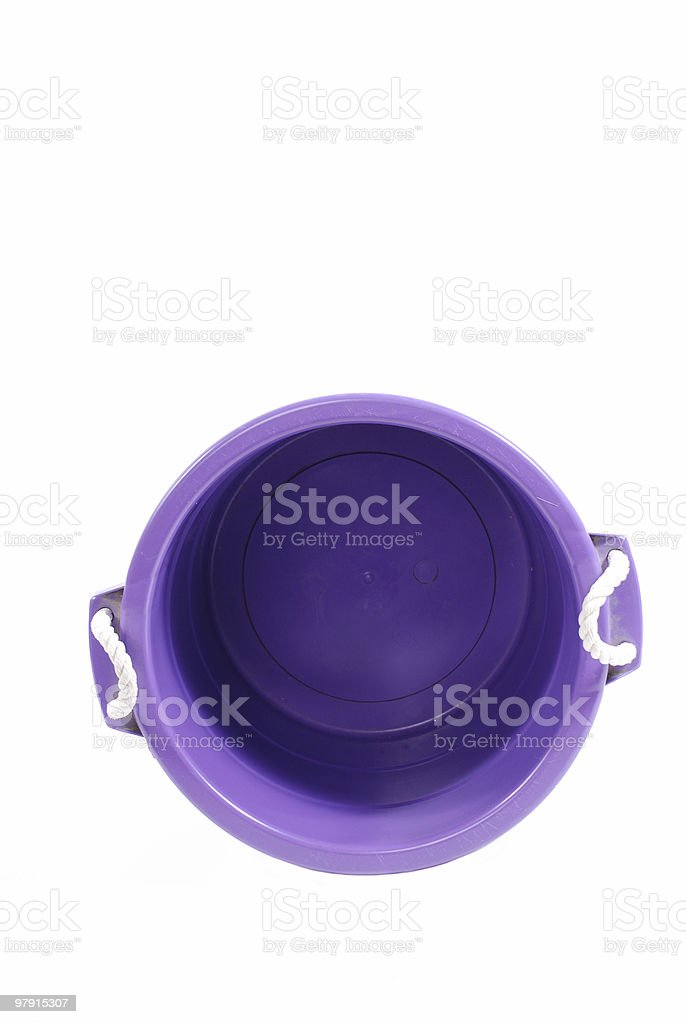 empty plastic basket royalty-free stock photo